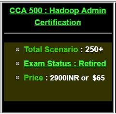 CCA500 Hadoop Admin Certifications Questions