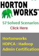 Hortonwrks HDPCS Hadoop Admin Certifications