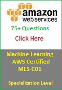 AWS Certified Machine Learning MLS C01 Certification Prepration Materal