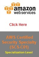AWS Certified Security Specialty (SCS-C01)